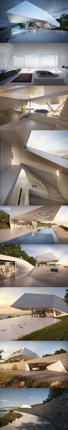 Futuristisches Hause | www.bocadolobo.com #bocadolobo #Einrichtungsideen #exklusivesdesign #designideen #designinspirationen #wohnideen #luxusmöbel #innenarchitektur