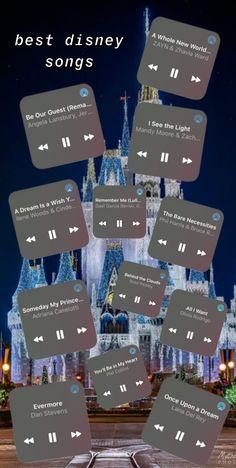 the best disney songs :) Disney Songs Playlist, Best Disney Songs, Song Playlist, Best Songs, Disney Music, Music Mood, Mood Songs, Playlist Names Ideas, Throwback Songs
