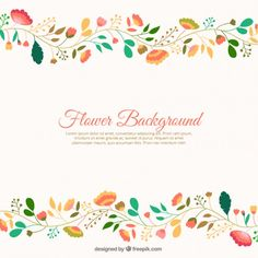 Flores bonitos fundo