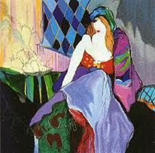 Park West Gallery collection of Itzchak Tarkay art. Art And Illustration, Illustrations, Andy Warhol, Art Nouveau, Art Deco, Artsy Photos, Post Impressionism, Indigenous Art, Love Painting