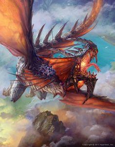 Legendary Dragon (advanced version) by Kan_Muftic - Kan Muftic - CGHUB