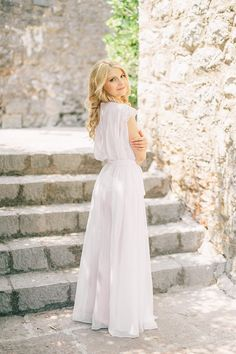 Photography: Sonya Khegay - sonyakhegay.com Wedding Dress: Rosa Clara - www.rosaclara.es/   Read More on SMP: http://www.stylemepretty.com/2015/12/09/intimate-villa-wedding-in-montenegro/