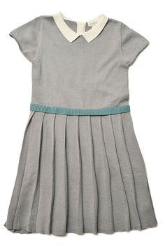 Pleated Maxwell Sweater Dress | Olive Juice