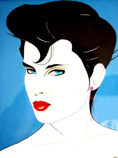 Patrick Nagel - Famous Last Words Patrick Nagel, Pinup, Pop Art, Futurism Art, Illustrator, Design Retro, Nagel Art, Album Cover, Salon Art