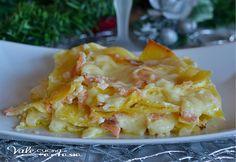 Lasagne al salmone ricetta primo piatto buone veloci e delicate, ottime per feste ricorrenze e come piatto della domenica pochi ingredienti tutti di qualità