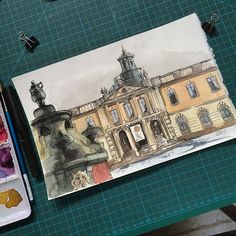 Nobel Museet Yesterday I joined the Urban Sketchers of Stockholm at Stortorget in Gamla Stan.....the perspective is a bit wonky due to having to start my drawing one place and move under shelter later due to rain, hail and snow!!!  good times though, good times!!! #art #watercolor #penandink #lamy #fountainpen #sketch #sketching #sketchbook #moleskine #drawing #urbansketching #urbansketch #urbansketchersstockholm #nobelmuseet #stortorget #stockholm #sweden