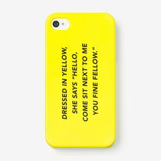 iPhone 4/4S Case in Fine Fellow, $25 | kate spade saturday pop-up shop on fab.com