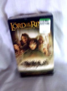 Lord of the Rings The Fellowship of the Ring VHS Movie New-Sealed 2002
