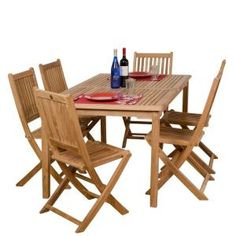 Hampton Bay Walnut Creek Durawood Patio Dining Table 2160000009 at