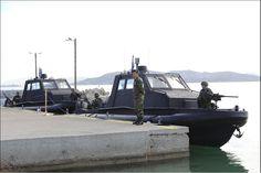 Έπεσαν στο νερό τα δύο Υπερταχέα Σκάφη των Καταδρομών στο (ΚΕΕΔ).Παρουσία ΥΕΘΑ! (φώτο)