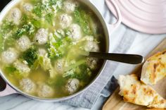 Italian wedding soup is a traditional soup that's so good, there's no need to save it for special occasions!