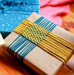 woven yarn wrapping