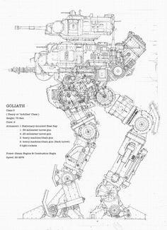 "Achilles Class Tripod ""Goliath"", War of the Worlds: Goliath"