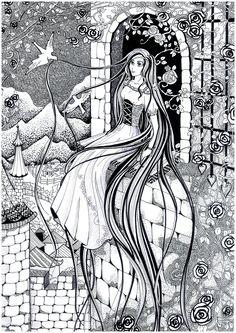 Rapunzel by Paskhalidi.deviantart.com on @deviantART