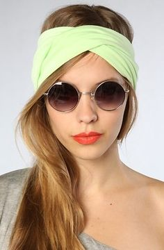 turban with my round sunglasses +maxi