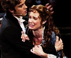 Sierra Boggess and Hadley Fraser in the 25th Anniversary of the Phantom of the Opera :-)