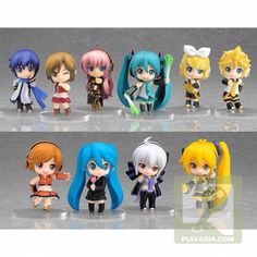 Vocaloid chibi action figures