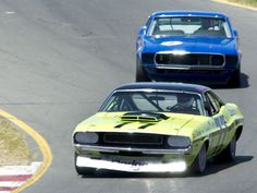 Schedule for Historic Trans Am