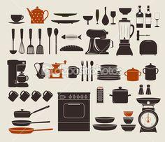 appareils de cuisine — Illustration #27317373
