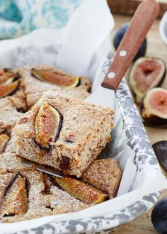 Made with almond and cashew flours, this gluten free fig cake is infused with almond extract and kept super moist thanks to ricotta. It's subtle sweetness makes it perfect for breakfast or an afternoon snack.