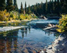 North Country September by Josh Elliott Oil ~ 16 x 20
