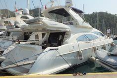 Azimut 68 Plus motor yacht charter in Marmaris.
