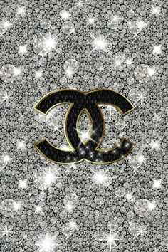 Chanel Glitter Sparkly iPhone Wallpaper