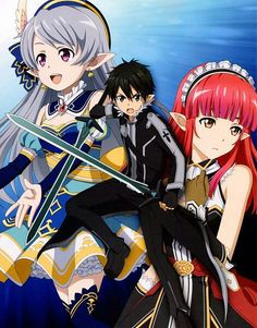 Sword Art Online: Lost Song - The Complete Guide, Rain (Sword Art Online), Nanairo Alsharvin, Seven (ALO) Sword Art Online Asuna, Fairy Tail, Tous Les Anime, Lost Song, Gurren, Kirito Asuna, Accel World, Kaichou Wa Maid Sama, Another Anime