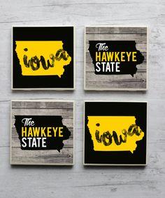 Iowa / Iowa Coasters / Iowa Hawkeyes / University of by iGotCrafts