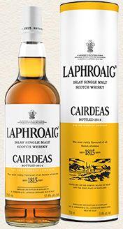 Laphroaig Single Malt Whisky - Cairdeas 2014 single malt available from Whisky Please.