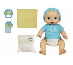 Purchase Hasbro Baby Alive Wets & Wiggles Boy Doll from 's Toys & Games Store Today! We have Hasbro Baby Alive Wets & Wiggles Boy Doll by Baby Alive and Baby Alive Doll Clothes, Boy Doll Clothes, Baby Alive Dolls, Barbie Doll Set, Girl Dolls, Baby Life, Muñeca Baby Alive, Baby Toys, Kids Toys