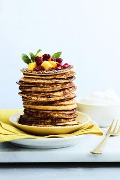 Rahkaräiskäleet   Välipalat   Soppa365 Pie Recipes, Cooking Recipes, Monkey Bread, Pancakes And Waffles, Sweet Treats, Restaurant, Baking, Healthy, Breakfast