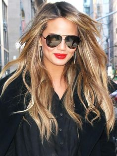 We love Chrissy Teigen's amazing bronde hair colour... which shade will you go for this spring?