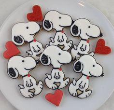 Snoopy Cookies MAYBE WE BAKE THE COOKIES CINDY  LOVE  CLINT