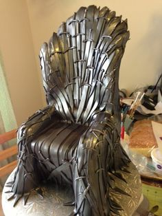 How To Make A Game Of Thrones Chair Cake