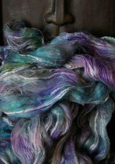 Les mystères de la mer (Bleu Violet Vert blanc)