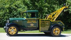 1934 Ford One-Ton Wrecker www.TravisBarlow.com - Tow Insurance and Auto Transporter Insurance for over 30 Years