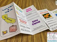 NEW Fifty Nifty States brochures and flash cards