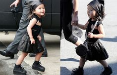 Alexander Wang's neice is the few kids I know that's ahead of the fashion curve! Haut cuteness!