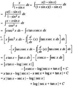 RBSE Solutions for Class 12 Maths Integration Miscellaneous Exercise Class 12 Maths, 12th Maths, Calculus, Algebra, Maths Formulas List, Maths Solutions, Good Morning Texts, Board Exam, Mathematics
