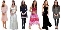 Wild Cards Kate Middleton Dress, Kate Middleton Style, Tailored Fashion, Tube Top Dress, Kardashian Style, Duchess Kate, Royal Fashion, Formal Wear, Her Style