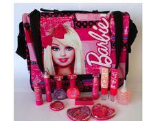 Bolsa de maquillaje infantil de Barbie. Markwins