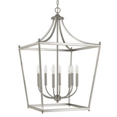 Jane 8-Light Foyer Pendant