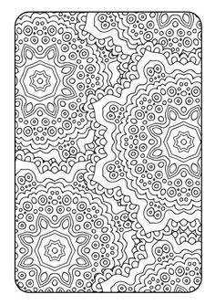 Adult Coloring Book Art Therapy Volume 2 por bySarahRenaeClark                                                                                                                                                                                 Más