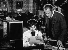 """My Fair Lady"" Audrey Hepburn and Rex Harrison"