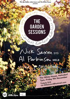 The Garden Sessions poster