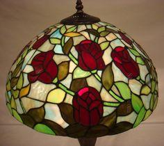 Rose Tiffany Lamp 16S0-116