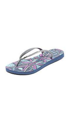 5b617d76c9732d Havaianas Womens Slim Royal Sandal Flip Flop Navy Blue 37 BR78 W US -- Visit