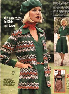 1974, Burda moden