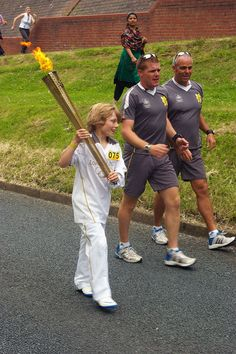 @Avramskii: Olympic torch in Scunthorpe